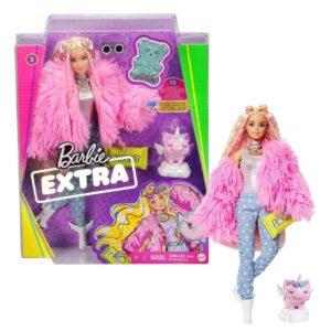 Barbie Extra - Fluffy Pink Jacket [GRN28]