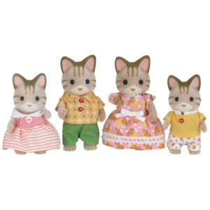 Sylvanian Families - οικογένεια Striped Cat [5180]
