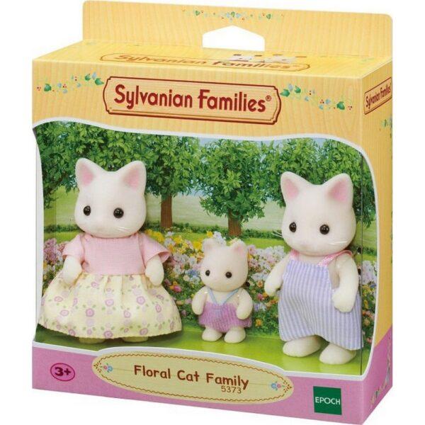 SYLVANIAN FAMILIES-ΟΙΚΟΓΕΝΕΙΑ FLORAL CAT [5373]