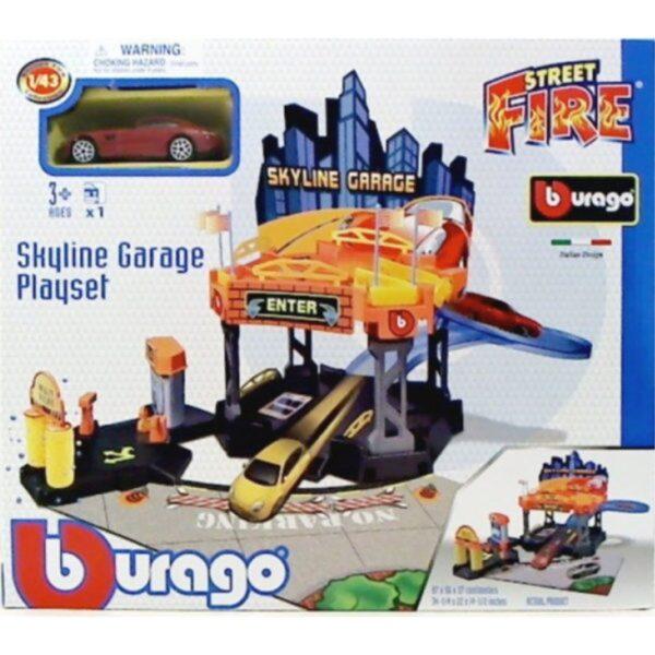 1/43 Street Fire Skyline Garage 2 - Level [18/20358]