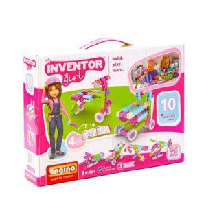 Engino Inventor Girls 10 Models [45/00IG10]