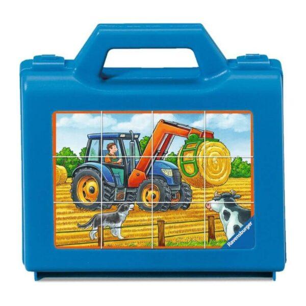 Κύβοι 12 τεμ. οχήματα στο αγρόκτημα [07432]