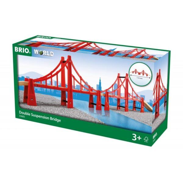 Γέφυρα κρεμαστή διπλή [33683]