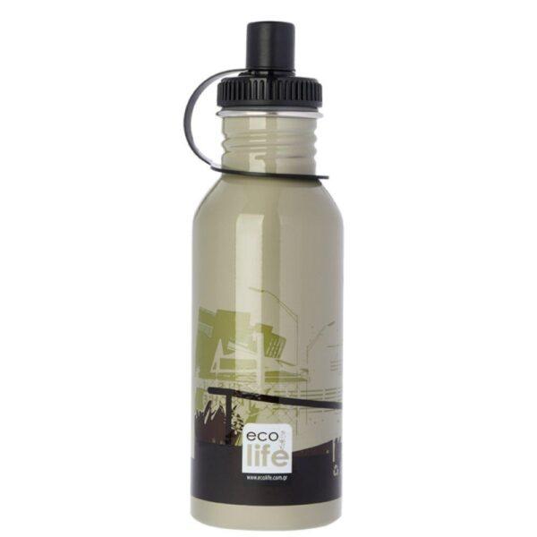 Μεταλλικό μπουκάλι 600ml - Skate [33-BO-1007]
