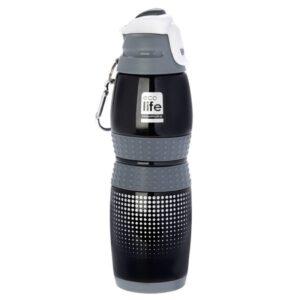 Μεταλλικό μπουκάλι 400ml - Vacuum Black [33-BO-3013]