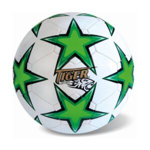 Δερμάτινη μπάλα ποδοσφαίρου Tiger αστερι - Πρασινο S.3 [35/744]