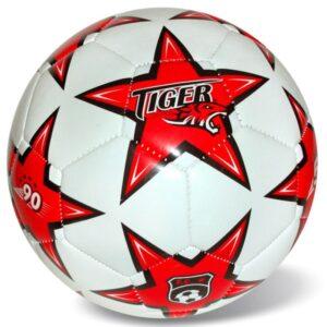 Δερμάτινη μπάλα ποδοσφαίρουtiger αστερι - Πορτοκαλι S.5 [35/721]