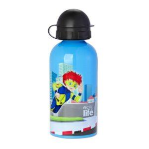 Ανοξείδωτο μπουκάλι παιδικό 500ml - Super Boy [33-BO-2007]