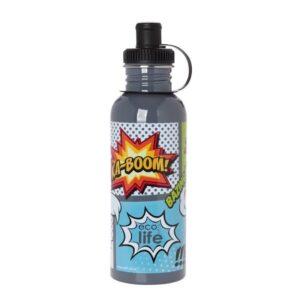 Μεταλλικό μπουκάλι 600ml - Cartoon [33-BO-1010]