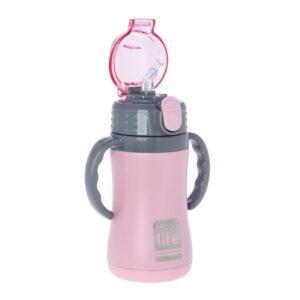 Μεταλλικό θερμός παιδικό 300ml - Ροζ [33-ΒΟ-3005]