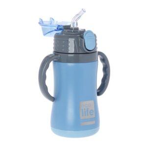 Μεταλλικό θερμός παιδικό 300ml - Μπλε [33-ΒΟ-3006]