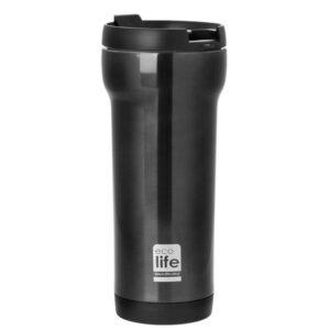 Coffee Thermos Mug - Grey [33-BO-4006]