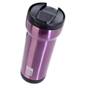 Coffee Thermos Mug - Pink [33-BO-4005]