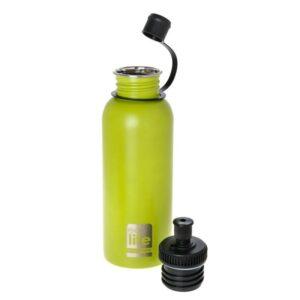 Μεταλλικό μπουκάλι 600ml - Lime [33-BO-1014]