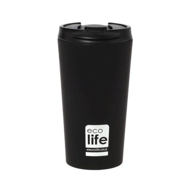 Coffee Thermos Black [33-BO-4015]