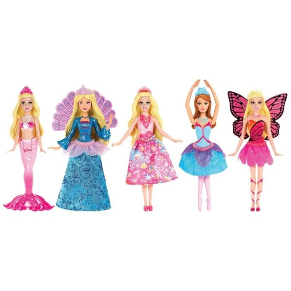 Barbie μίνι πριγκίπισσες [V7050]