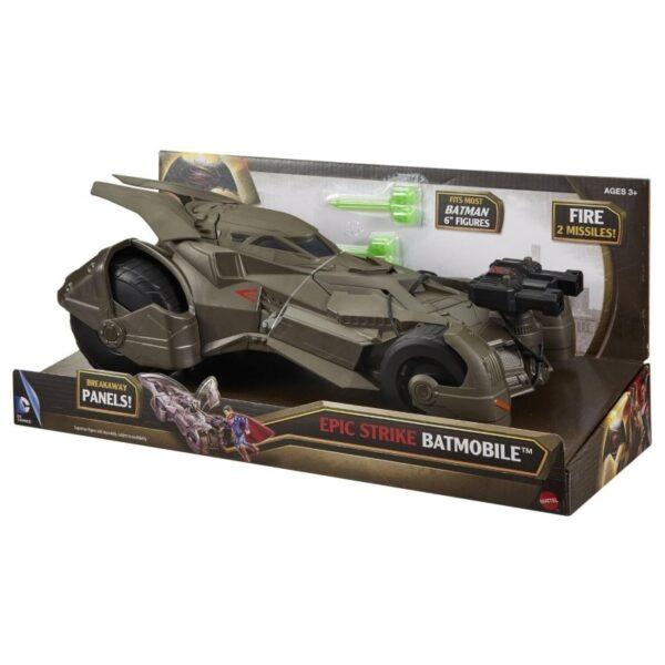 BM Vs SM Deluxe Batmobile 15εκ. [DHY29]