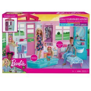 Νέο σπιτακι - Βαλιτσακι Barbie [FXG54]