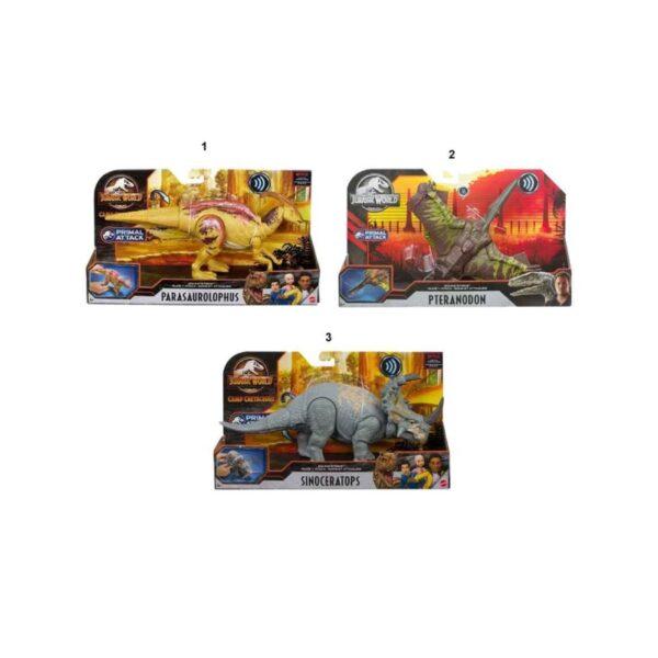 Δεινόσαυρος κινούμενα μέλη επιθεση - ήχους [GJN64]