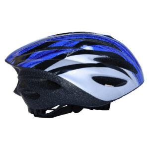 Κράνος ποδηλάτου μπλε με φως [003.10006/MP/S]