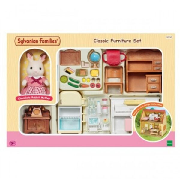 Sylvanian Families - Classic Furniture Set For Cosy [030252]