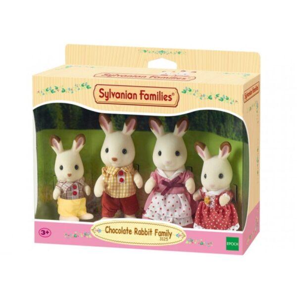 Sylvanian Families - Chocolate Rabbit Family [030284]