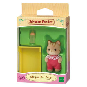 Μωρό Striped Cat Family [5186]