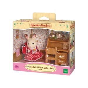 Σετ Chocolate Rabbit κορίτσι με γραφείο [5016]