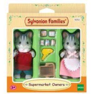 Sylvanian Families - ιδιοκτήτες σούπερ μαρκετ [5052]