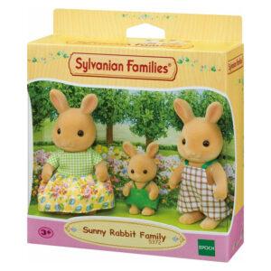 Sylvanian Families - οικογένεια Sunny Rabbit [5372]